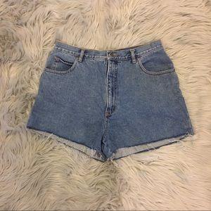 Pants - Vintage denim cut off shorts